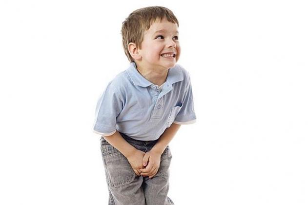 Síntomas de una infección urinaria en niños