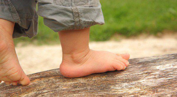 Dolor de pie en niños