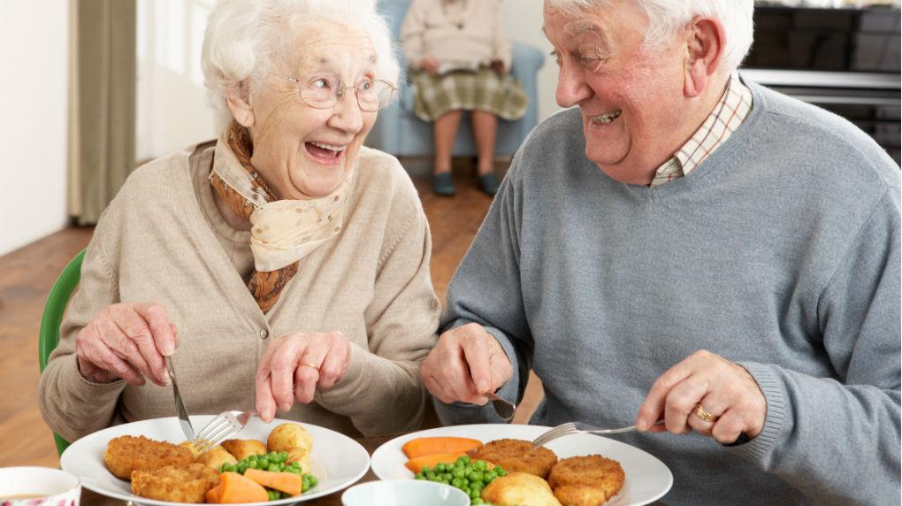 Alimentación rquilibrada en el anciano