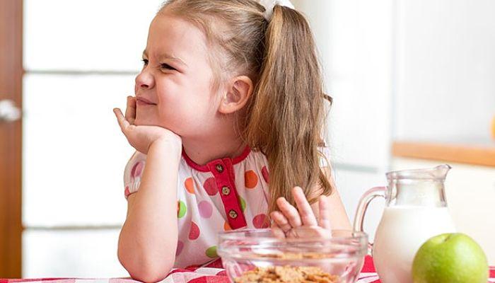 falta de hierro en la dieta de los niños