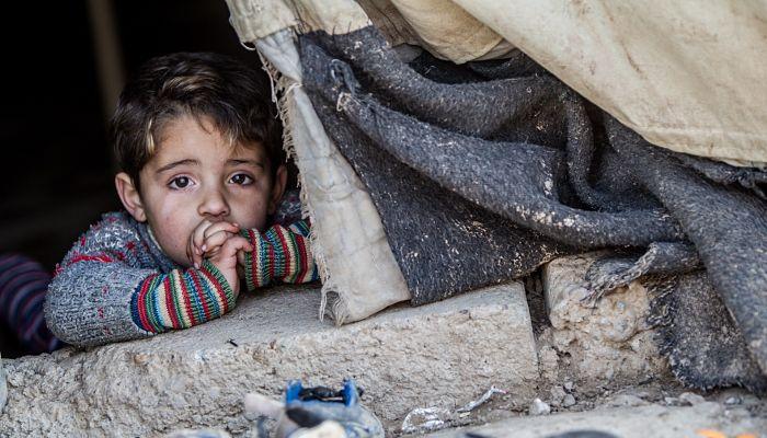 efectos de la guerra sobre los niños